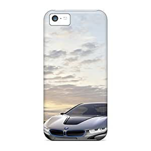 Durable Case For The Iphone 5c- Eco-friendly Retail Packaging(bmw On Bridge)