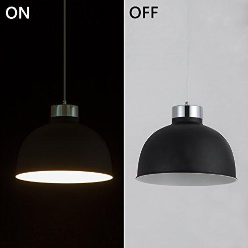 YUNJI Industrial Style 1-Light Pendant Light Adjustable