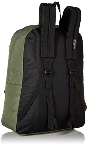Unisex Black Adult Superbreak Green Backpack Jansport Muted Label qCPwqd