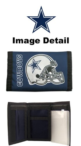 Dallas Cowboys NFL Team Logo Tri Fold High - Dallas Cowboys Trifold Wallet