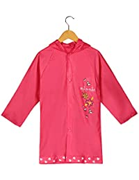 New Minnie Mouse Girl's Pink Rain Slicker Size Small 2/3 Medium 4/5 and Large 6/7