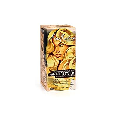 Shea Moisture Hair Color System - MEDIUM GOLDEN BLONDE