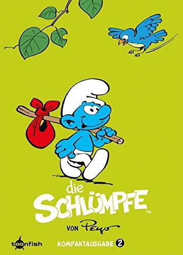 Die Schlümpfe Kompaktausgabe. Band 2 Gebundenes Buch – 16. November 2017 Peyo Splitter-Verlag 3958399622 Comic / Humor