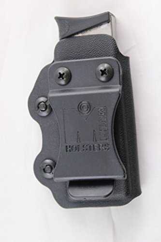 Multi Holsters Elite Single Magazine Holsters (S&W Bodyguard 380, Black Calcutta)