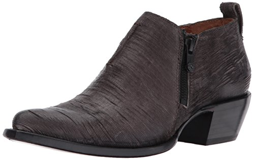 Frye Charcoal Women's Shootie Moto Vintage Cut Sacha Leather wrwHpqIn6x