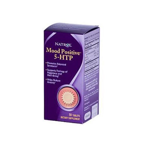 Natrol Mood Positive 5 Htp 50 Tab by Natrol