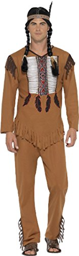 [Native American Warrior Costume Chest 46