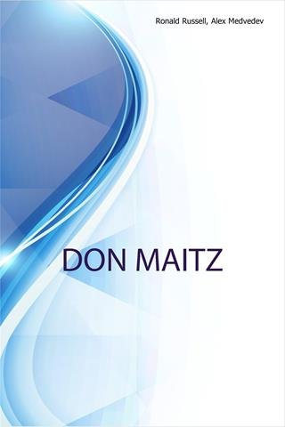 Read Online Don Maitz, Imaginative representational artist PDF
