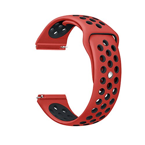 EloBeth Silicone Replacement Fitness Red Large