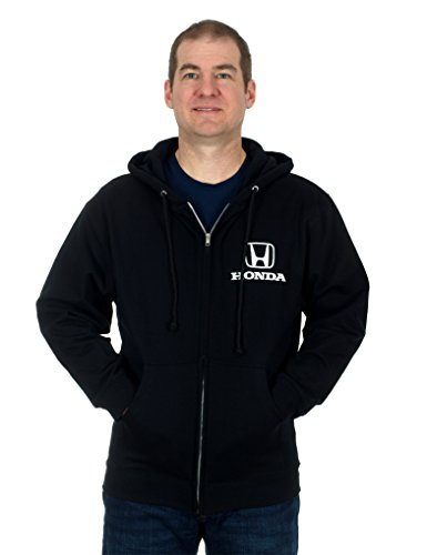 Men's Honda Logo Zip-up Hoodie (Large)