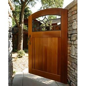 Amazon Com Craftsman Mission Diamond Side Yard Wood Gate