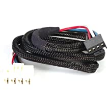 Husky 31864 Flat Connector Custom Wiring Harness for Brake Controller
