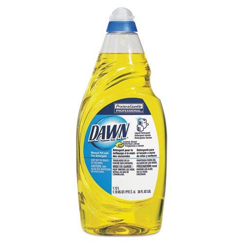 (Dawn - Manual Pot & Pan Dish Detergent, Lemon, 38 oz Bottle 45113EA (DMi)