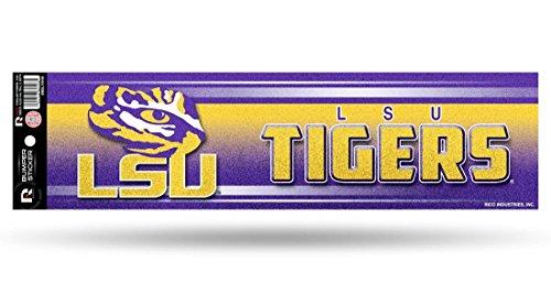LSU Tigers Bumper Sticker - (Tigers Glitter Gear)