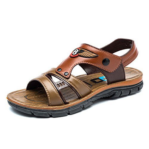 (coloing Adventure Seeker Two-Strap Sandal Toddler/Little Kid(Brown 32/1 M US Little Kid))