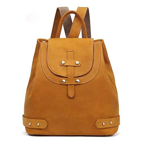 Wma-sac à dos en cuir loisirs dames cheval rétro sac à dos tendance sac