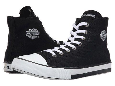 (ハーレーダビッドソン)Harley-Davidson メンズスニーカーカジュアルシューズ靴 Nathan [並行輸入品] B07457PLLY 26.5 cm D - M Black 1 Black 1 26.5 cm D - M