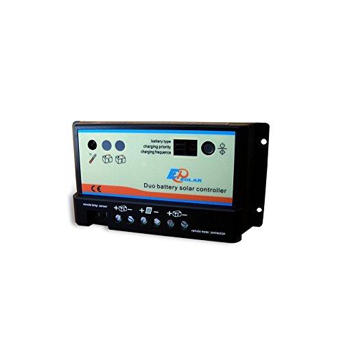 1 opinioni per Regolatore di Carica REGDUO 10A 12/24V EP Solar EP Series Fotovoltaico