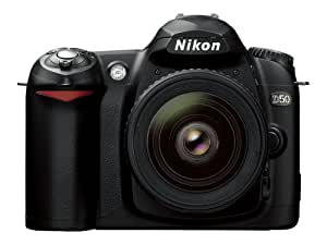 Amazoncom  Nikon D50 61MP Digital SLR Camera with 18