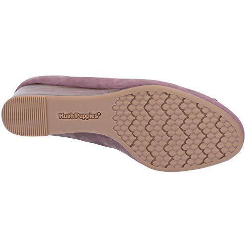 Shoes Leather Hush Morkie Charm Heel Womens Plum Puppies Wedge Light q0IwAP