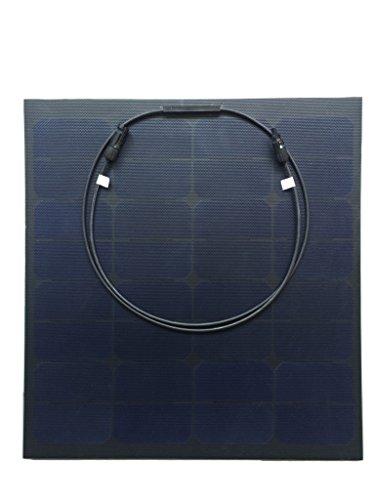CHANVE 50W 18V Sunpower ETFE fabric laminated Semi Flexib...