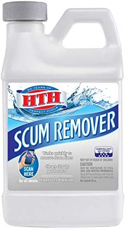 HTH 67016 Scum Remover Swimming Pool Cleaner 64 oz / HTH 67016 Scum Remover Swimming Pool Cleaner 64 oz