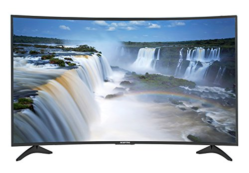 Sceptre C558CV-U | 55-Inch Curved 4K UHD LED TV