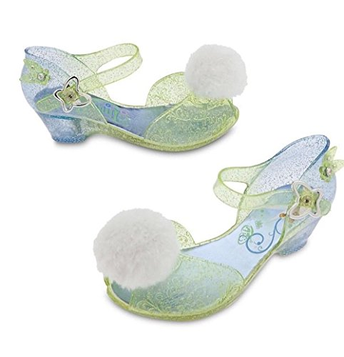 Disney Store Deluxe Tinkerbell Light Up Shoes Toddler Size 7 / 8 Tinker Bell