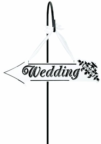 Lillian Rose Wedding Arrow Direction Double Sided Sign, 1...