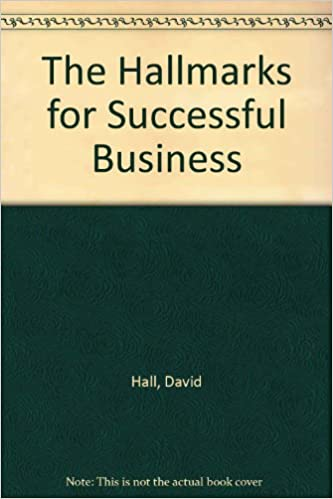 Book The Hallmarks for Successful Business