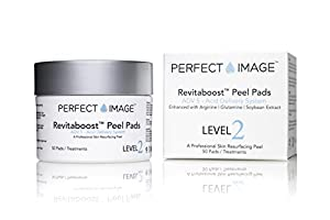 ETERNITY (REVITABOOST) PEEL Anti-Aging Peel Pads - Enhanced with Glycolic Acid 15% | TCA 15% | Mandelic Acid 3% | Arginine | Glutamine | Soybean 50 pads made by PERFECT IMAGE