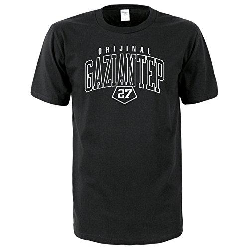 Gaziantep 27 Türkiye T-Shirt Euro-Fit schwarz
