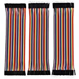 Robotbanao Male-Male, Male-Female, Female-Female Jumper Wires 120 Pieces