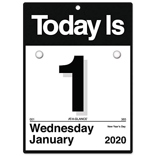 AT-A-GLANCE 2020 Daily Wall Calendar, 6