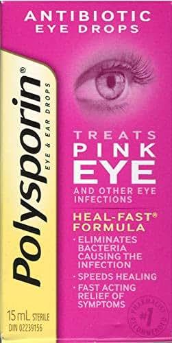 POLYSPORIN Pink Eye Drops 15ML