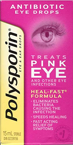 POLYSPORIN Pink Eye Drops 15ML (Best Pink Eye Drops)