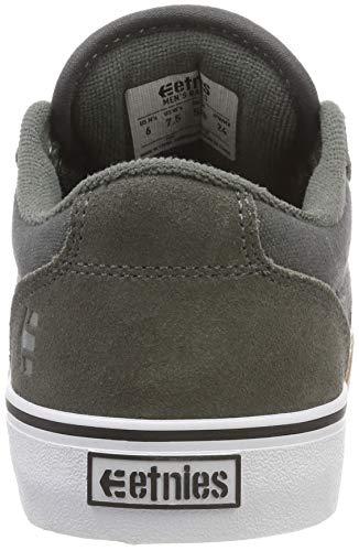 Grey Black Silver Skate Barge Etnies LS Men's Shoe xwSYX
