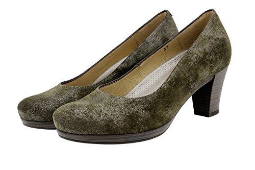 Escarpin Chaussure Confortables Confort Amples Femme Carusoverde En Cuir Piesanto 9301 SqYTA