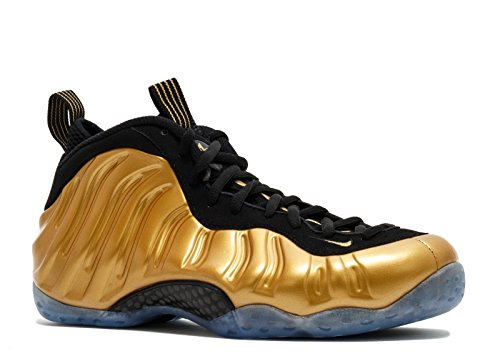 Nike NIKE AIR FOAMPOSITE ONE - Zapatillas para hombre Dorado Metallic Gold/Black-Metallic Gold 41 EU