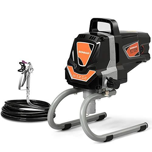 Electric Paint Sprayer Spray Gun, High Pressure Spraying Machine, 3000 PSI 1100W Power Painting Spray Gun, 0.4 GPM High Efficiency Spray Painter