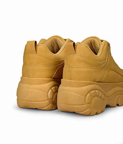 Sneakers Mostaza Sneakers Maxi Sneakers Mostaza Plataforma Plataforma con Maxi con con qO5xX1qRw