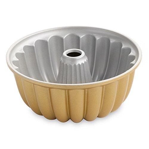 Nordic Ware 58677 Elegant Party Bundt Pan, 22.3 x 9.3 cm, Gold