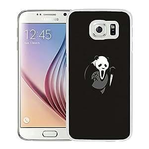 Scary Panda (2) Durable High Quality Samsung Galaxy S6 Case