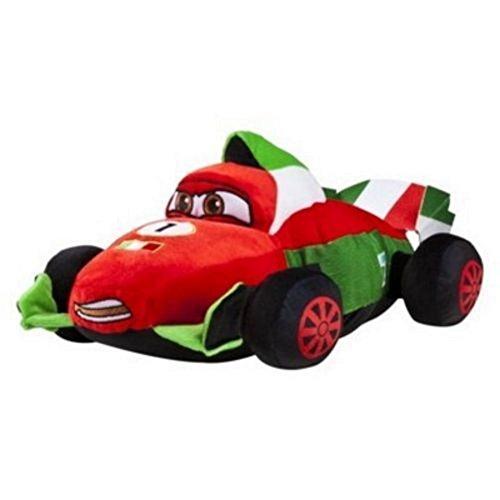 """Disney Pixar Cars 2 Pillowtime Pillow Pal Playpal 19"""" France"""