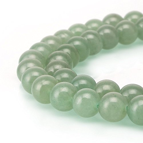 AAA Natural Green Aventurine Gemstone 10mm Loose Round Beads Spacer Beads 15.5