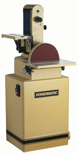 (Powermatic 1791291K Model 31A 6-Inch/12-Inch 1-1/2 Horsepower Belt/Disc Sander, 115/230-Volt 1 Phase)