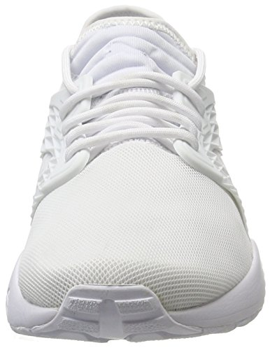 Puma Unisex-erwachsene Blaze Bur Mono Sneaker Weiß (hvid-Hvid-hvid) Vy09tuq