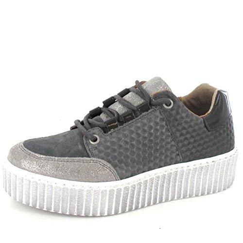 ONLINE SHOES Zapatillas Para Mujer Gris Gris, Color Gris, Talla 37 EU: Amazon.es: Zapatos y complementos