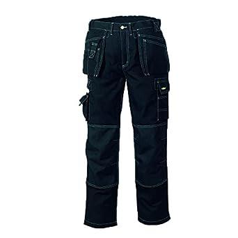 teXXor - Pantaloni da lavoro in saia, mod. Panama, Kaki, 20-004312-24