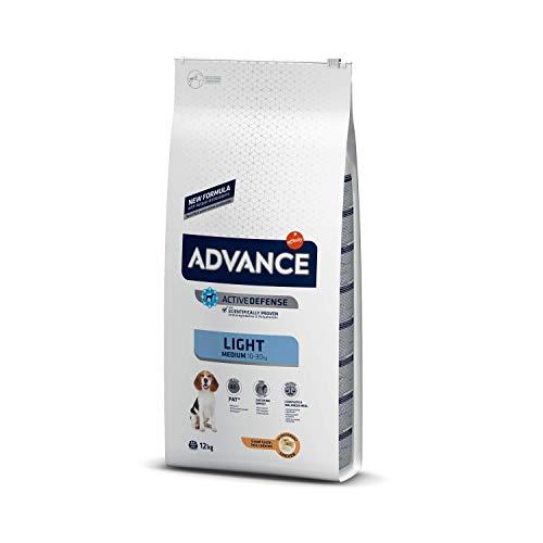 🥇 Advance Light Pienso para Perros Medium – 12000 gr